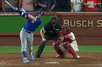 Ian Happ hits go-ahead, two-run homer in the ninth as Cubs take 6-5 lead over Cardinals thumbnail
