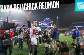 Mark Titus y Charlotte Wilder reaccionan al reencuentro de Tom Brady-Bill Belichick |  Podcast de deportes populares