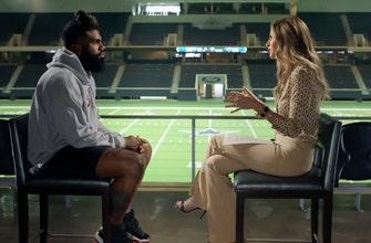 'Nos estamos divirtiendo mucho': Ezekiel Elliott y Erin Andrews discuten el buen comienzo de los Cowboys