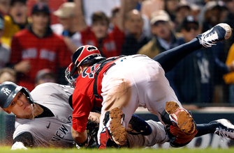 Red Sox nab Aaron Judge at home plate with perfectly executed relay thumbnail