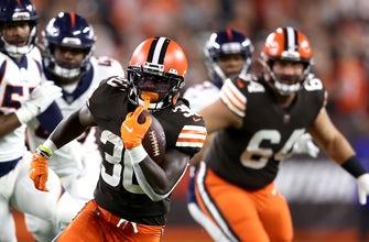 D'Ernest Johnson's big night fuels Browns'  17-14 victory over Broncos