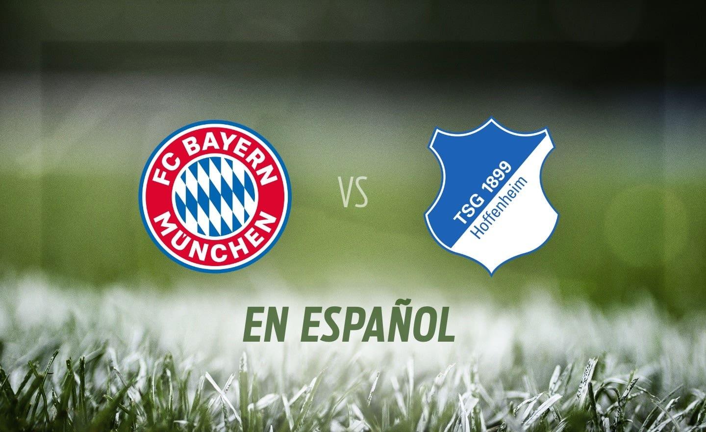 Bayern Munich vs. Hoffenheim en Español | FOX Sports