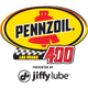 Pennzoil 400 presented by Jiffy Lube