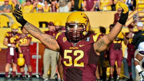 Arizona St. OLB Carl Bradford; Packers (4th Round, 121st overall)