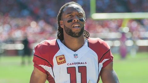 Larry Fitzgerald states the obvious