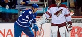 Maple Leafs slip past Coyotes in shootout