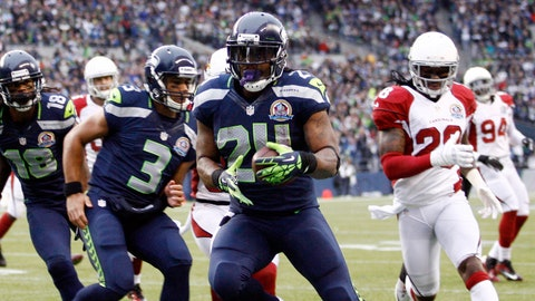 Lynch has less mileage on his body