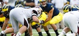 Michigan's Morris to get baptism by fire in Buffalo Wild Wings Bowl