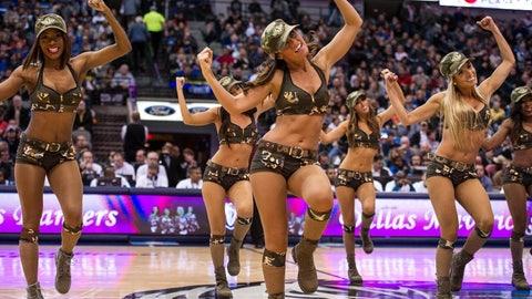 NBA dancers