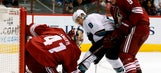Coyotes fall to Sharks in shootout