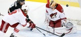 Coyotes rally but fall to Ducks in overtime