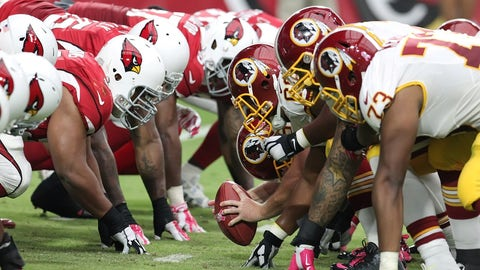 Redskins at Cardinals