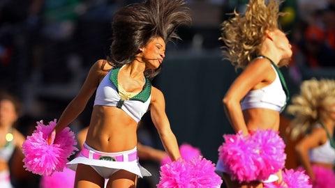 Jets cheerleaders