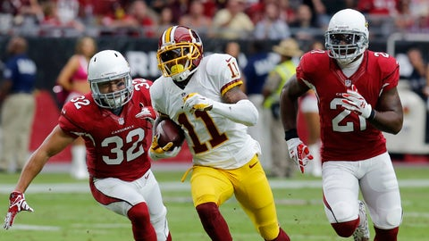 DeSean Jackson, Redskins WR (22.60 mph)
