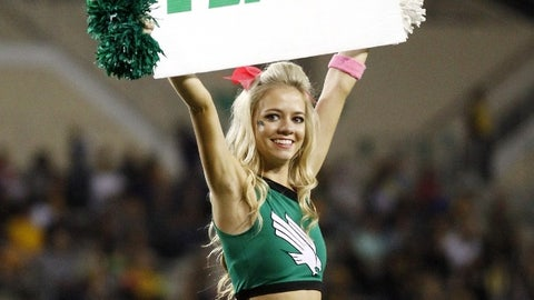North Texas cheerleader