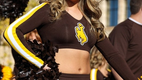 Wyoming cheerleader