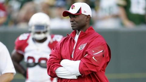 Arizona defensive coordinator Todd Bowles