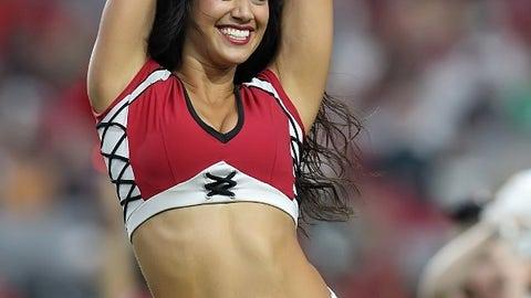Cardinals cheerleader