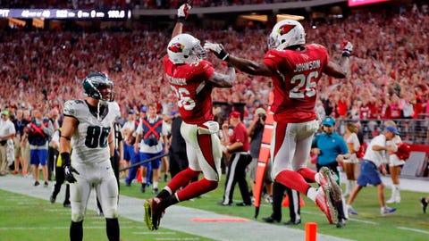 October 8: Arizona Cardinals at Philadelphia Eagles, 1 p.m. ET