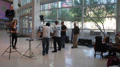 FOX Sports Arizona Girls fall promo shoot