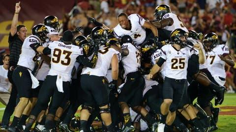 Arizona State at USC, Oct. 4