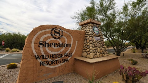 Super Bowl snapshots: Sheraton Wild Horse Pass