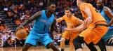Hornets send off Suns with loss
