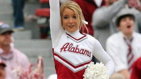 Alabama cheerleader