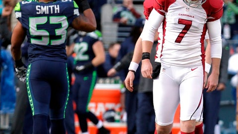 Cardinals at Seahawks