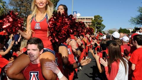 Arizona cheerleaders