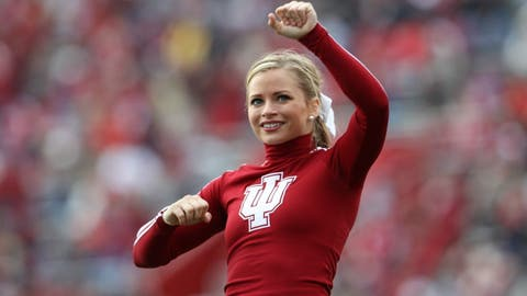 Indiana cheerleader