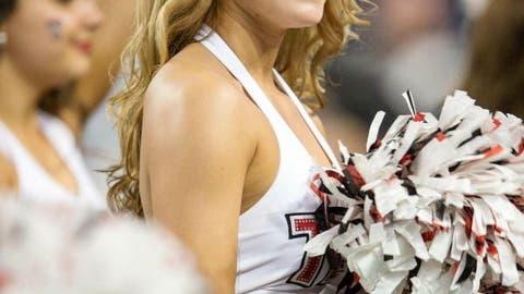 Texas Tech cheerleader