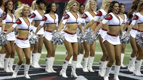 Falcons cheerleaders