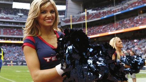 Texans cheerleader
