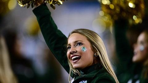 Colorado State cheerleader