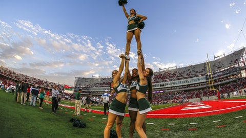 Tulane cheerleaders
