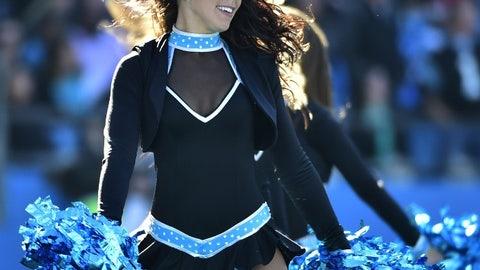 Panthers cheerleader