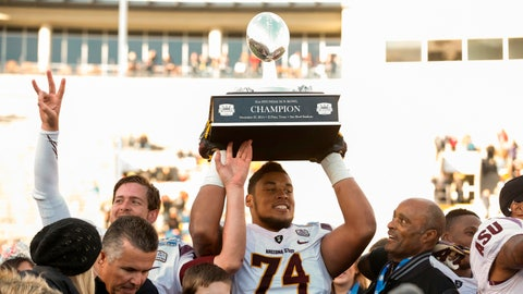 Arizona State OL Jamil Douglas; Dolphins (4th Round, 114th overall)