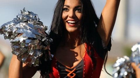 Buccaneers cheerleader