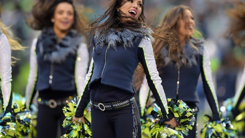 Seahawks cheerleaders