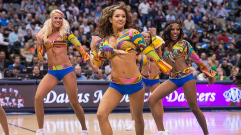Mavericks dancers