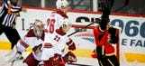 Coyotes' late flurry comes up short