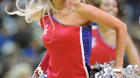 Washington Wizards dancer