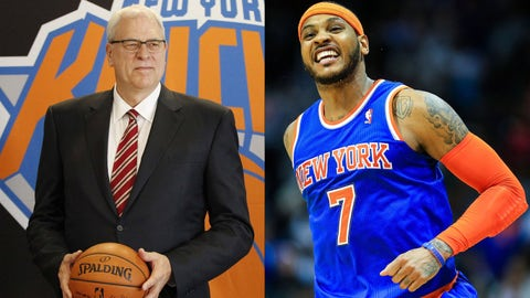 Phil Jackson vs. Carmelo Anthony