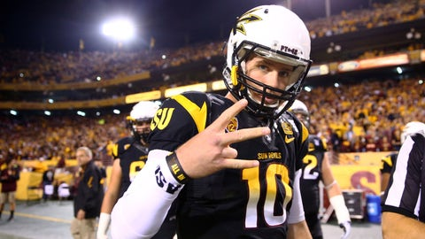 Taylor Kelly, QB, Arizona State