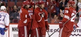 Coyotes pull away, beat Canadiens for first time since '98