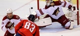 Coyotes collapse in third in disappointing loss