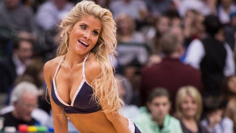 Dallas Mavericks dancer