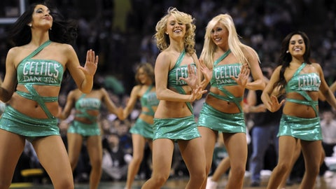 Boston Celtics dancers
