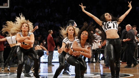 Brooklyn Nets dancers